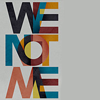 we: 'We not me' written in vaguely seventies-style type. (Default)