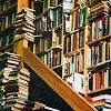 sanssommeil: (Mountains of books)