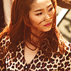 molt: yeeun in her 'so hot' video outfit, hair blowing in her face. (wg | kill heels)