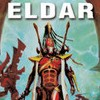 halialkers: Warhammer Eldar in red armor, plumed hat, carring two weapons (Anacel)