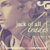 "spindizzy: Gippal from Final Fantasy X-2, with the words ""Jack of all trades"" written over him. (Jack of all trades)"