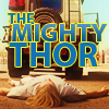 sinisterlink: Thor gets hit by a car again (Mighty Thor)