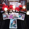 swampseer: 5 Card tarot spread offered from Silent Seance using The Victorian Romantic Tarot (tarot, tarot reading)