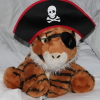 tigerfort: The Captain, in pirate captain uniform (Pirate, Tigers, Captain)