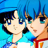 cypsiman2: Blue babies Ami and Miki being adorable (Ami and Miki)