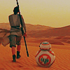 sholio: Rey and BB8 from Star Wars (Star Wars)