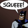 sinesofinsanity: For squeeing (Batman Squee)