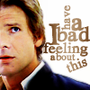 "sholio: Han Solo with text: ""I have a bad feeling about this"" (Star Wars-Han)"