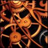 pocketmouse: intermeshed copper gears (gears_metal)