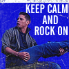 gigglingkat: Gimme that old time Rock'n'Roll (addict: Music: Keep Calm Rock On)