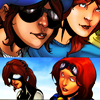 musesfool: Rikki/Anya (sunlight comes through your smile)