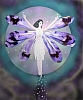 kshandra: pixie with purple wings aloft before a full moon (Good)