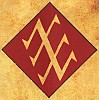 """kshandra: The stylized 7 sigil that featured in the """"New Moon On Monday"""" video (Duran Duran)"""