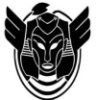 kshandra: the highly stylized sphinx logo of the convention's inaugural year (Convolution)