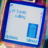 "kshandra: Close-up of an old Nokia cellphone; the display reads ""Tardis calling"" with an icon of the TARDIS in the corner (TARDIS Calling)"