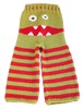 kshandra: knit toddler pants with a monster face over the bottom (CrankyPants)