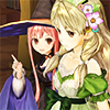 batman: Wilbell and Ayesha from Atelier Ayesha (in Atelier Ayesha Bell rings you!)
