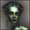 xtina: (cool-eyed, green girl)