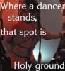 ayalanya: (sacred dancer)