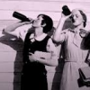 mllesatine: two women taking swigs from their beer bottles (Default)
