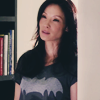 yue_ix: Joan Watson standing in her Batman t-shirt (Batman Joan)