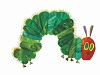 intothespin: Drawing of a caterpillar from children's book by Eric Carle (very hungry caterpillar)