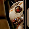 nenya_kanadka: BB8 peaking around the corner (SW BB8)