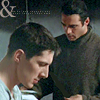 yasaman: Duncan and Methos thoughtfully reading something (duncan and methos)