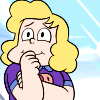 sotto_voce: Sadie smiling with her hand over her mouth ([steven universe] wibbleface)