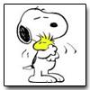 laturner: (snoopy hug)