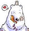 laturner: (bear with kittens)