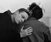 bironic: the angel cassiel comforts a man on the ledge (cassiel hug)