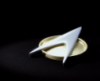 bironic: insignia pin from star trek the next generation (trek insignia)