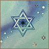 bironic: star of david from a greeting card (star of david)