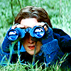 elaineofshalott: Charles (played by James McAvoy) looks through binoculars. (charles sees what you did there)