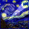 gentlyepigrams: (batman - starry night bat signal)