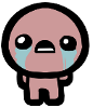 tintinnabulum: A bald young man crying. He is naked, but since this is a cartoony picture, you can see nothing. (Isaac)