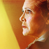 genarti: General Leia Organa in profile, with epic lighting ([sw] calling all my generals)