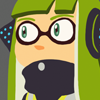 woomy: icon of a side glancing Agent 3 (Don't be shellfish)