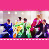 pensnest: Nsync in brightly coloured pimp dressing gowns (Nsync just got paid)