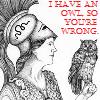 sheistheweather: (I Have An Owl So You're Wrong, Athena)