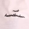rubiconjane: text: not heartbroken (Default)