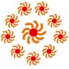 tewaters: Memory of AUSOS sun symbol (ausos suns)