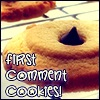 alisanne: (First comment cookies)