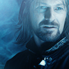 muccamukk: Boromir with a blue filter. (LotR: Boromir Blue)