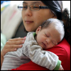 kate_nepveu: infant asleep on adult's shoulder (The Pip - sleeping on shoulder (2011-12))