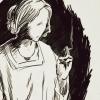 nehelenia: (faceless old woman.)