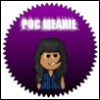 "oncejadedtwicesnarked: An angry looking brown person, the text above reads ""POC MEANIE"". (Poc Meanie)"