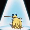 surskitty: Flonne holding a katana (true practice of stealth)