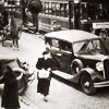 sylvaine: A black and white photo of a pre-war Warsaw street. ([gen:pol] Warszawa)